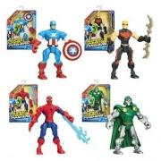 Человек-Паук серия Сборные супер Герои Marvel Super Hero Mashers
