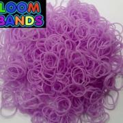 Сиреневые резиночки Loom Bands (600шт)