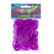 Резиночки Rainbow Loom Неон Фиолетовый  (300 шт.)