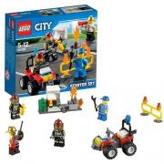 Конструктор Lego City 60088 Лего Город Пожарная охрана для начинающих