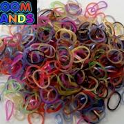 Перламутровый микс резиночки Loom Bands (600шт)