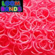Двухцветные резиночки (розово-белые) Loom Bands (600шт)