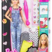 """Игровой набор """"Барби: Emoji Style"""" - Кукла с одеждой и аксессуарами"""