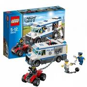 """Конструктор """"Автомобиль для перевозки заключенных """" Lego City 60043"""