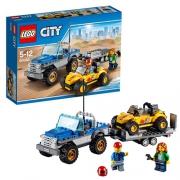 """Конструктор """"Перевозчик песчаного багги"""" Lego City"""
