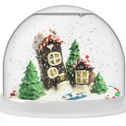 Набор Создай Волшебный шар со снегом Домики