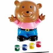 Детская копилка-раскраска Мишка