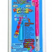 Набор для плетения RAINBOW LOOM- министанок с крючком, розовый