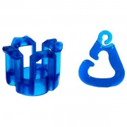 Finger loom (синий) Набор для плетения браслетов