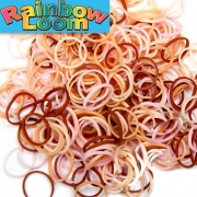 "Резиночки Rainbow Loom ""микс телесный""  (600шт)"