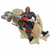Игровой набор Star Wars Hero Mashers - Спидер ситха и Дарт Мол