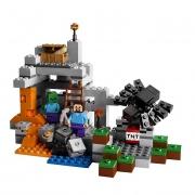 """Конструктор Лего Майнкрафт """"Пещера"""" Lego 21113"""