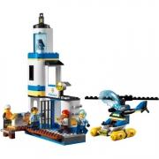 Конструктор LEGO City 60308 Операция береговой полиции и пожарных
