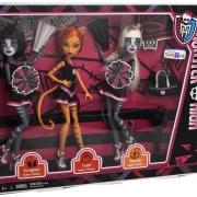 Набор из 3 кукол Монстер хай  -  Мяулоди, Тораляй и Пурсефона