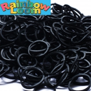 Черные резиночки Rainbow Loom (600шт)