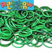 Темно зеленые резиночки Rainbow (600шт)