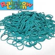 Бирюзовые резиночки Rainbow Loom (600шт)