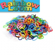 Разноцветные резиночки Rainbow Loom (600шт)