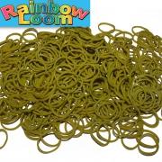 Оливковые резиночки Rainbow Loom (600шт)