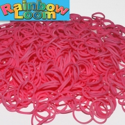 Розовые резиночки Rainbow (600шт)