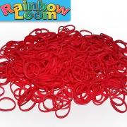 Темно красные резиночки Rainbow Loom  (600шт)