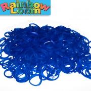 Синие резиночки Rainbow Loom (600шт)