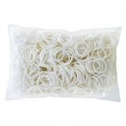 Белые резиночки Rainbow Loom (600шт)