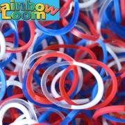 "Резиночки ""Патриот"" Rainbow Loom (600шт)"
