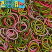 """Резиночки """"микс""""Розовый камуфляж"""" Rainbow Loom (600шт)"""
