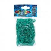Зеленовато-голубые резиночки Rainbow Loom (600шт)