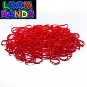 Красные резиночки Loom Bands (600шт)