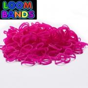 Малиновые резиночки Loom Bands (600шт)