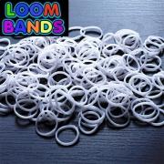 Белые резиночки Loom Bands (600шт)