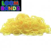 Желтые  резиночки Loom Bands (600шт)