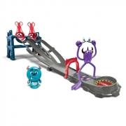 Игровой набор Monsters U Старт-финиш с 1 монстром Toxic Race Playset
