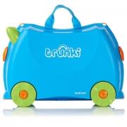 Детский чемодан на колесах Trunki Terrance (Транки Терренс) Голубой