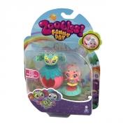 Игрушка Zoobles набор из 2 Зублс и домика 13203