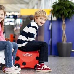 Детский чемодан на колесиках Trunki Harley (Транки Божья коровка)