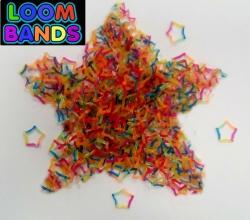 Резиночки в форме звездочки Loom Bands (300шт)